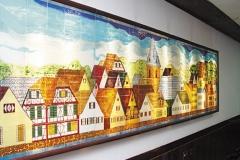 Painel Cidade Alema -Restaurante Graal Itatiaia -Sp